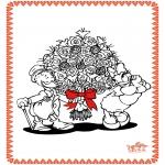 Coloriage thème - Saint-Valentin 8