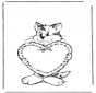 Saint-Valentin - chat