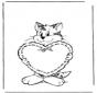 Saint-Valentin - chat