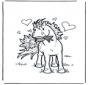 Saint-Valentin - cheval