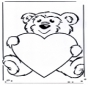 Saint-Valentin - ourson