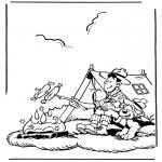 Personnages de bande dessinée - Samson et Gert 2