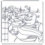 Personnages de bande dessinée - Shrek 3