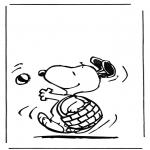 Personnages de bande dessinée - Snoopy 1