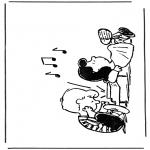 Personnages de bande dessinée - Snoopy 2