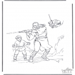 Coloriages faits divers - Star Wars 1