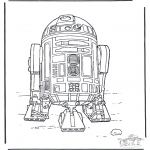 Coloriages faits divers - Star Wars 3