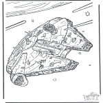 Coloriages faits divers - Star Wars 8