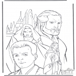 Coloriages faits divers - Star Wars 9