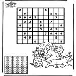 Bricolage coloriages - Sudoku - Cirque