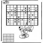 Bricolage coloriages - Sudoku - Diddl 1