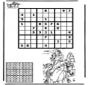Sudoku - équitation