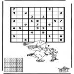 Bricolage coloriages - Sudoku - Patinage