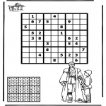 Bricolage coloriages - Sudoku - Star Wars