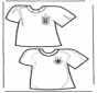 T-shirts de  foot 2