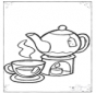 Thé et tasses