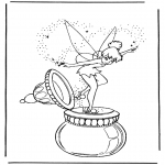 Personnages de bande dessinée - Tinkerbell 1