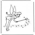 Personnages de bande dessinée - Tinkerbell 2