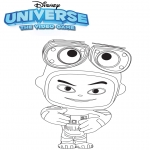 Personnages de bande dessinée - Universe: the video game Wall-e