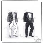 Bricolage coloriages - Vêtements 2