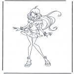 Personnages de bande dessinée - Winx Club 1