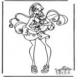 Personnages de bande dessinée - Winx club 12