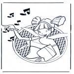 Personnages de bande dessinée - Winx Club 3