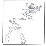 Personnages de bande dessinée - Winx club 7