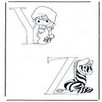 Coloriages faits divers - X et Y